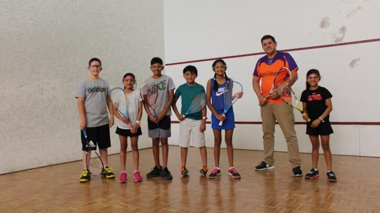 Squash Group Photo