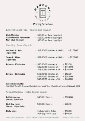 MTA_Pricing_Schedule_A4